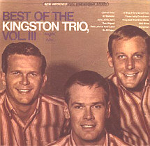 The Kingston Trio Ally Ally Oxen Free Marcelle Vahine