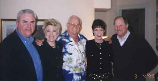 Bob shane with friends geneand gail kelly left and cathyand mike